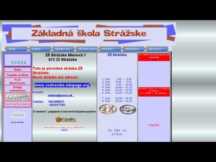www.zsstrazske.edu.sk