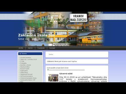 www.zsjuhvv.edu.sk