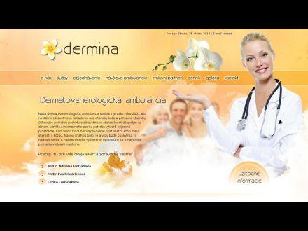 www.dermina.sk
