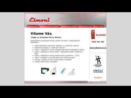 www.elmoni.sk
