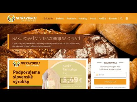 www.nitrazdroj.sk