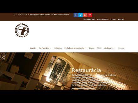www.restaurantartemis.sk
