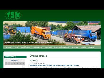 www.tsm.nove-mesto.sk