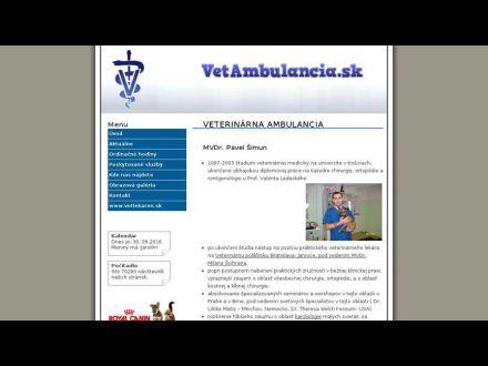 www.vetambulancia.sk