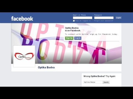 www.facebook.com/optika.bodva