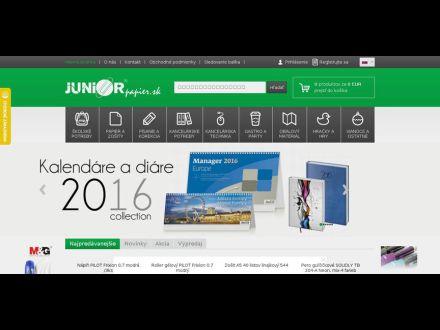 www.juniorpapier.sk
