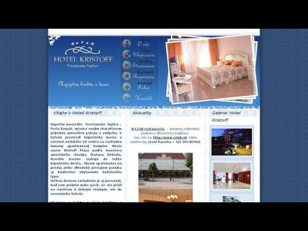 www.hotelkristoff.sk