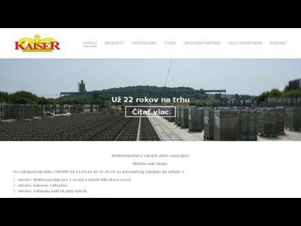 www.kaiserbeton.sk