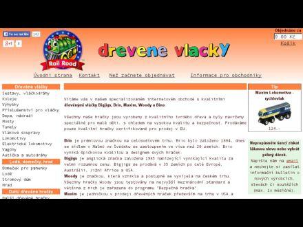 www.drevenevlacky.cz