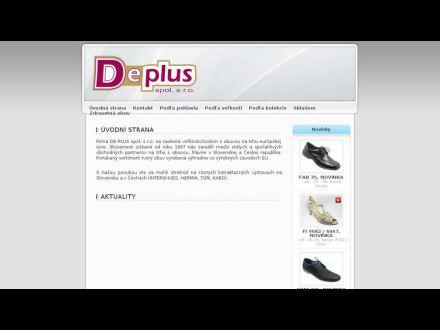 www.deplus.sk
