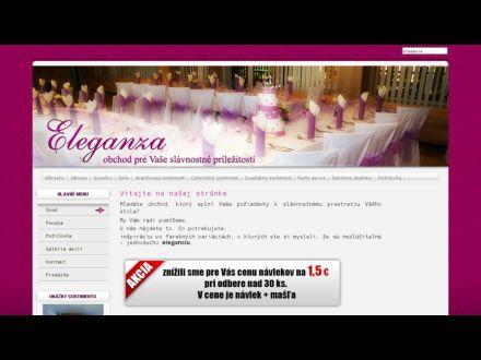 www.eleganza-stolovanie.sk