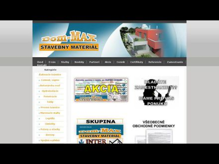 www.dom-max.sk