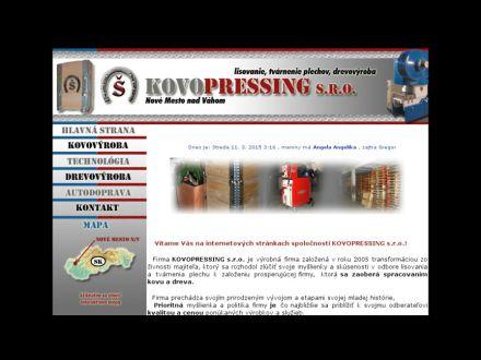www.kovopressing.sk