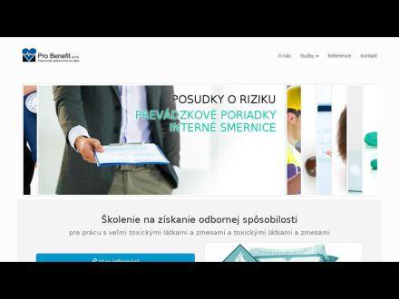 www.probenefit.sk