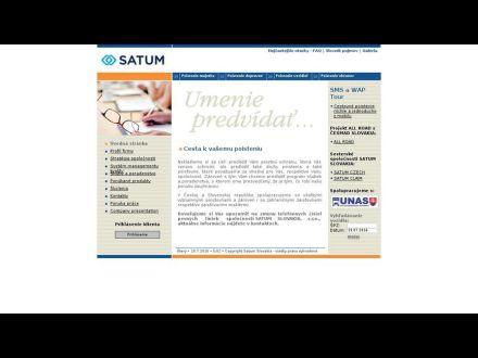 www.satum.sk