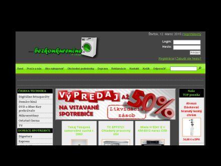 www.bezkonkurencne.sk