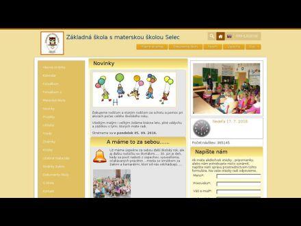 www.zsselec.edu.sk
