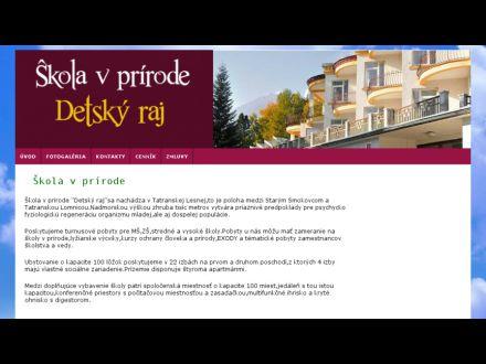 www.rajvprirode.sk