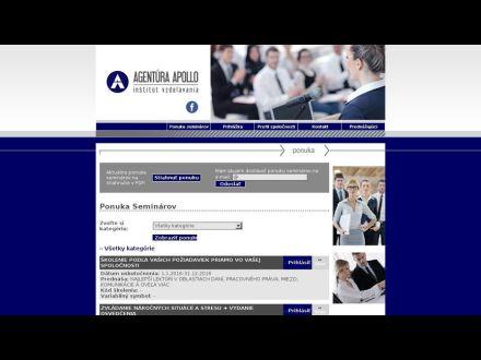 www.agenturaapollo.sk