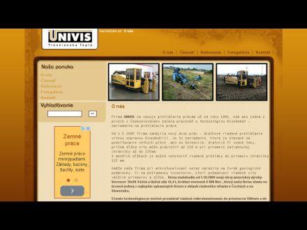 www.univis-pretlaky.sk
