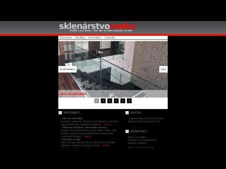 www.sklenarstvo-vasko.sk