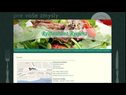 www.restaurantriviera.sk