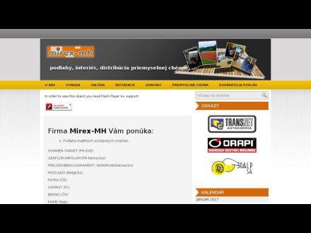 www.mirex-mh.sk