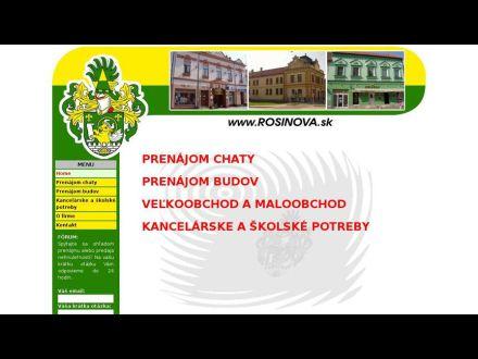 www.rosinova.sk