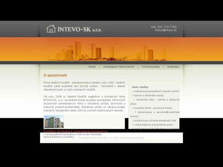 www.intevo.sk