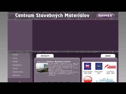 www.ramexslovakia.sk