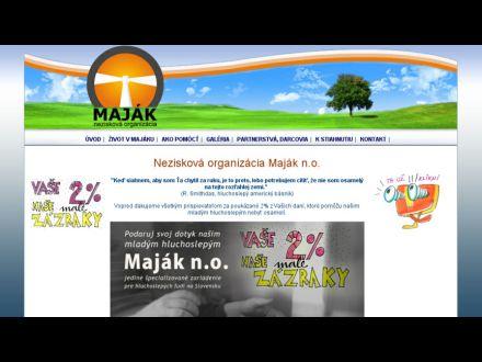 www.majak-no.sk