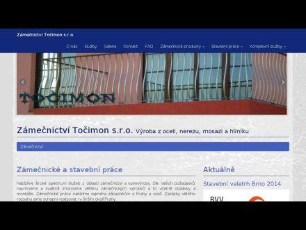 www.zamecnictvi-tocimon.cz