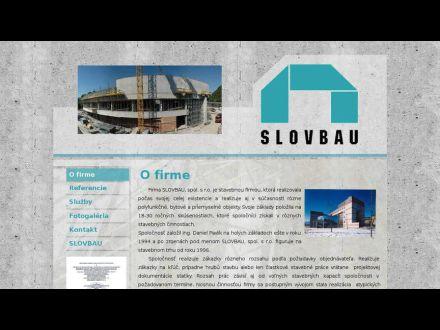 www.slovbau.sk