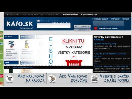 www.kajo.sk