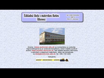 www.zsuhrovec.edu.sk
