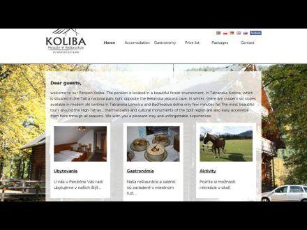 www.penzion-koliba.sk