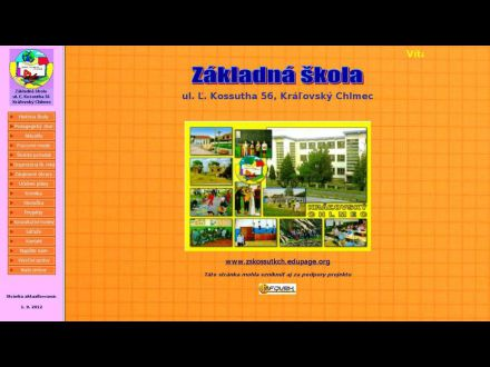 www.zskossutkch.edu.sk