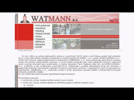 www.watmann.sk