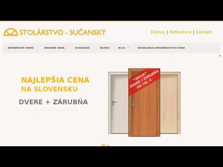 www.stolarstvo-sucansky.sk