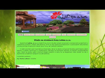 www.lalima.sk