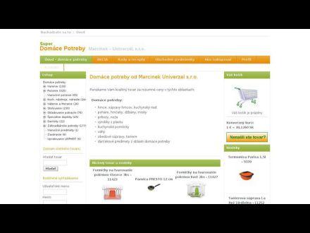 www.domacepotreby-marcinek.sk/
