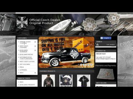 www.choppers-shop.sk