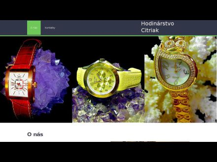 www.hodinarstvocitriak.sk