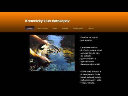 www.kremnicagoldpanningclub.yolasite.com