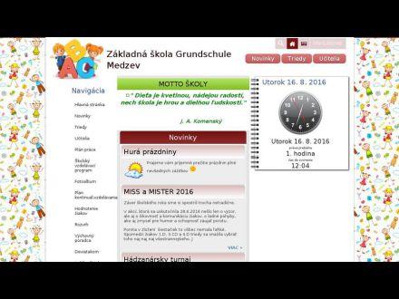 www.zsmedzev.edupage.org