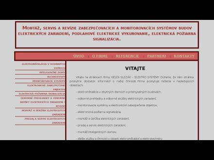 www.elektro-systemy.sk