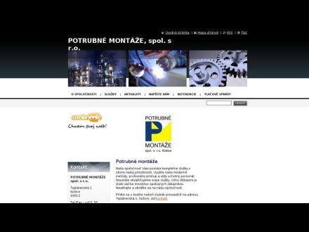 www.potrubnemontaze.webnode.sk