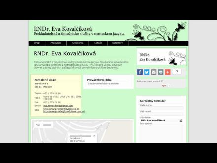 www.prekladykovalcikova.sk