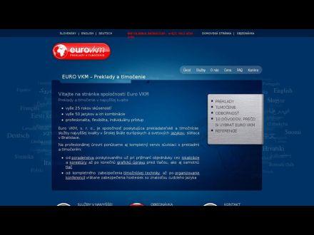 www.eurovkm.sk