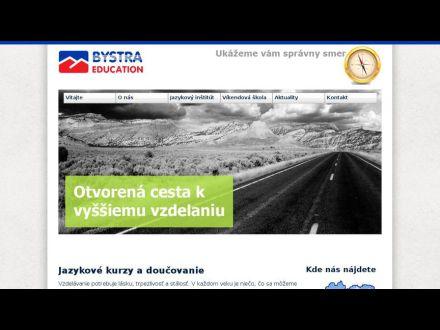 www.bystraeducation.sk